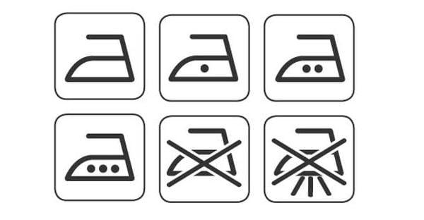 Символи за гладене.