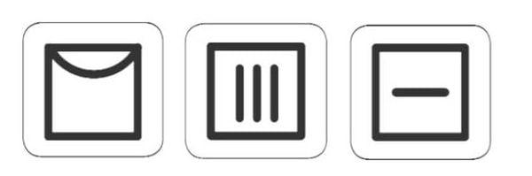 Символи за сушене.