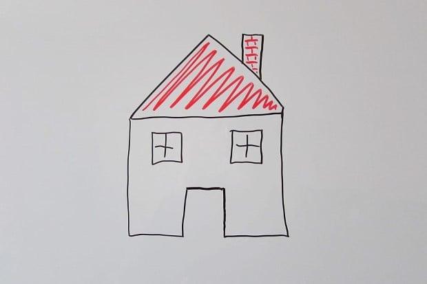 рисунка на къща