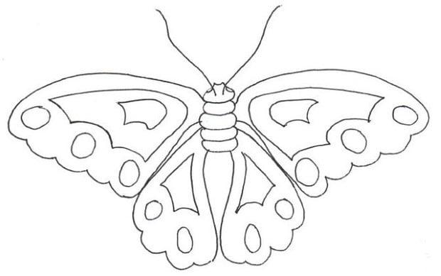 рисунка на пеперуда