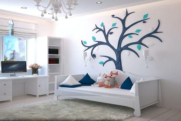 Подходящи цветове за детската стая на момиченце