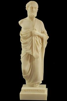 Статуя на Хипократ