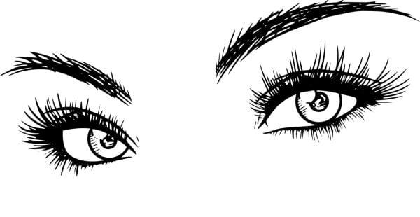 рисуване на очи