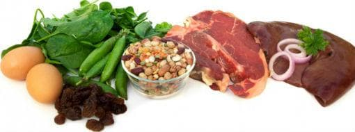 Храни при анемия