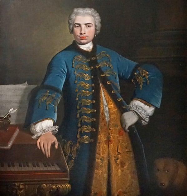 Портрет на Фаринели от Бартоломео Назари (Гранд Пале, Париж)