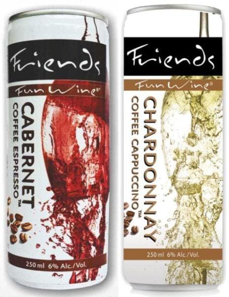 колекцията Fun wine - вино в кен