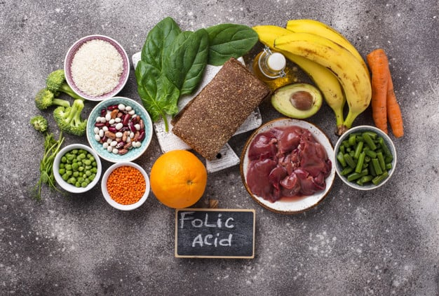 храни, богати на фолиева киселина