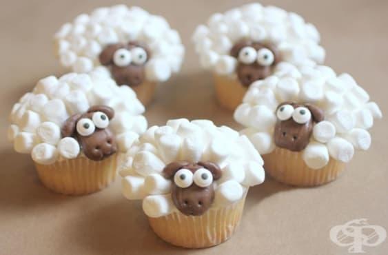 Великденски мъфини овчици