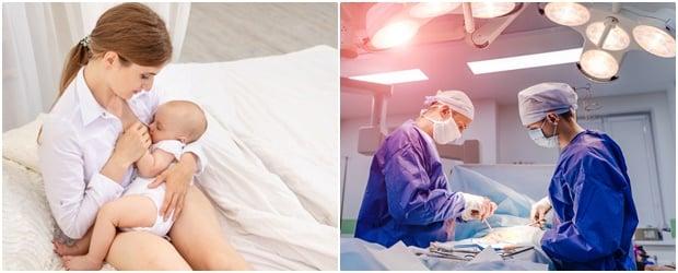 Лечение при мастит: медикаментозно и оперативно лечение на усложненията (гноен мастит, абсцес)