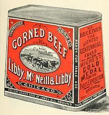 Осолено говеждо в консерва