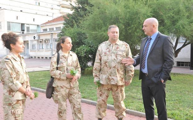 Български военни медици