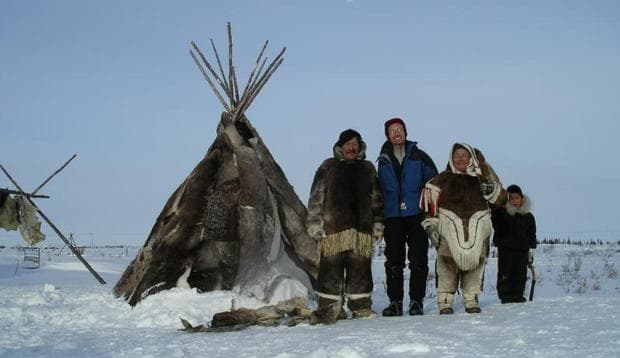Инуитски лагер