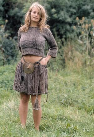 Реплика на облеклото на Момичето от Егтвед