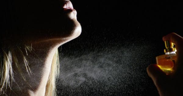 Употреба на парфюм