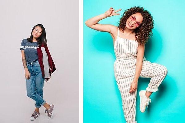 модели, модни трикове