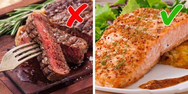 Избягване на възпалителни храни
