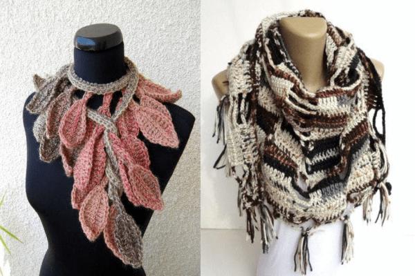 Ръчно плетени шалове
