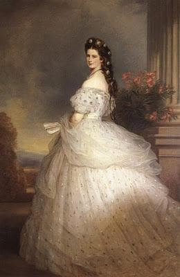 Портрет на Императрица Елизабет Баварска