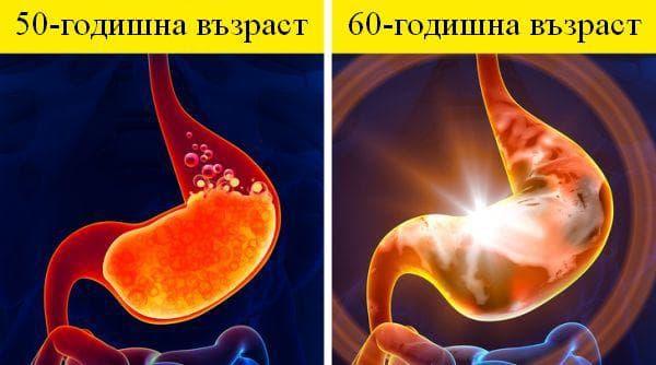 Промени в тялото от 50 до 60-годишна възраст