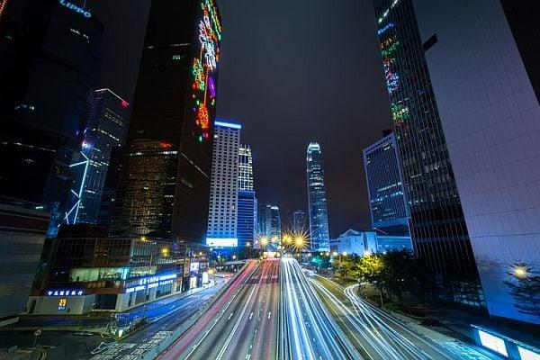 Небостъргачи в Хонконг