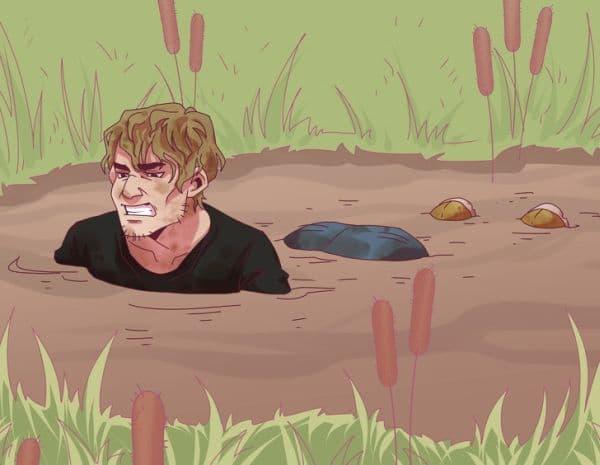 Оцеляване в кал или кална вода