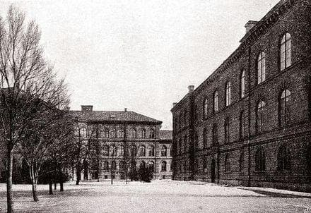 Оригиналната сграда на Каролинска институтет