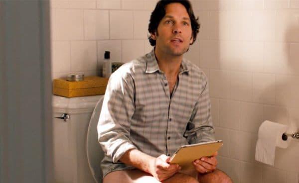 Взимане на джаджи в банята