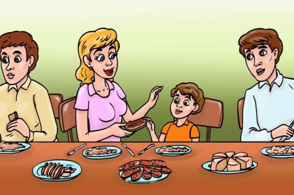 Хранене на дете