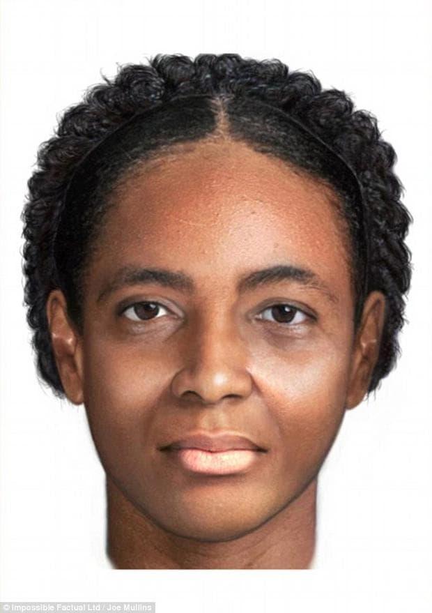 Реконструкция на лицето на намерената жена