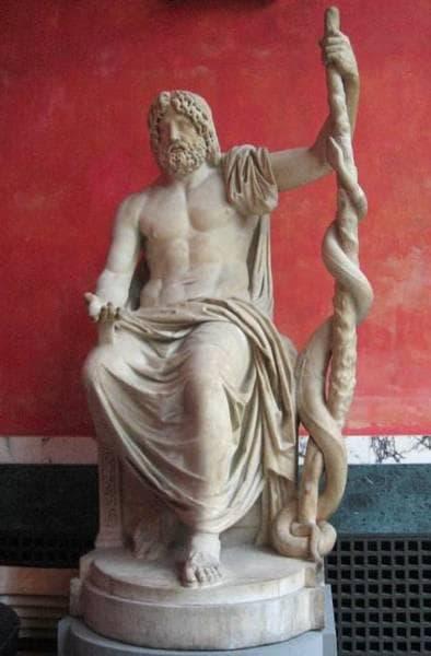 Статуя на Асклепий