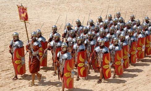 Римски легионери от времето на Имперския период
