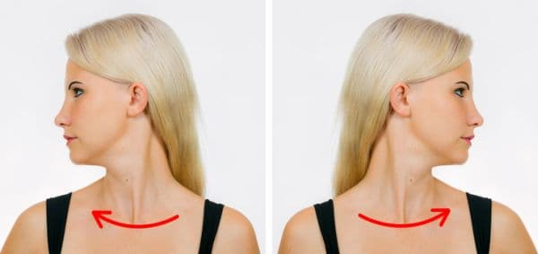 Движение на главата в двете посоки