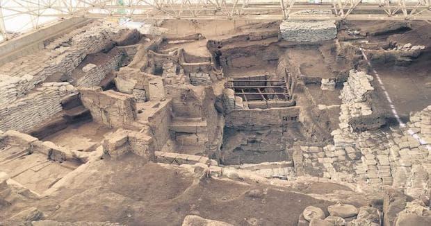 основите на сгради от Чаталхьоюк