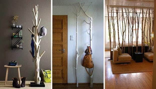 декор с дървета