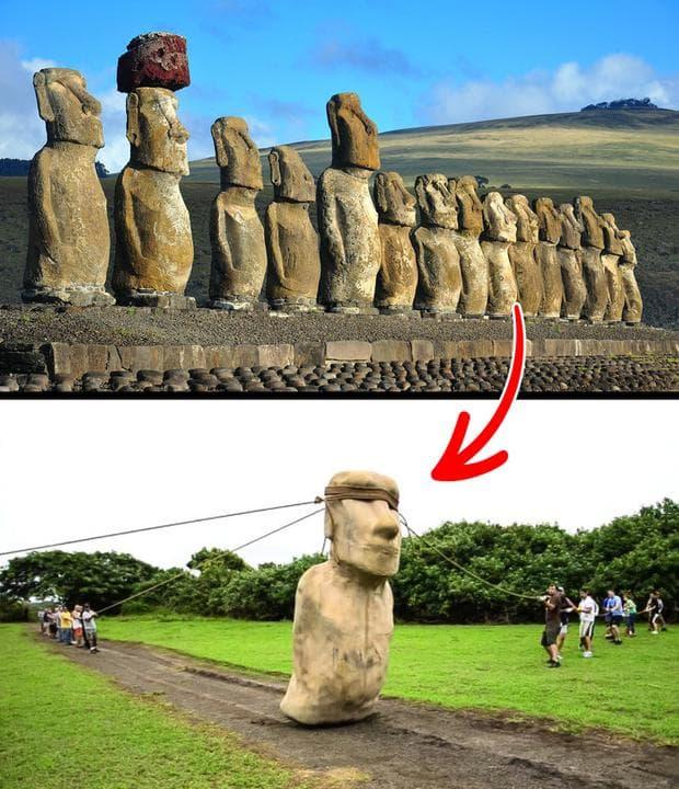 Гигантски статуи