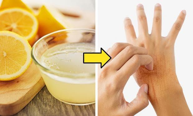 масло с лимонов сок