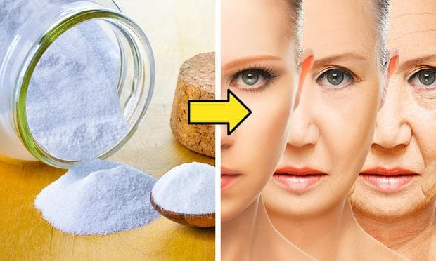 пилинг на лицето със сода