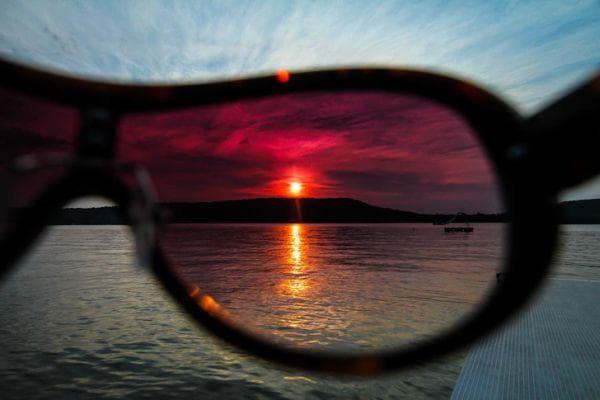 Слънчеви очила под формата на филтри