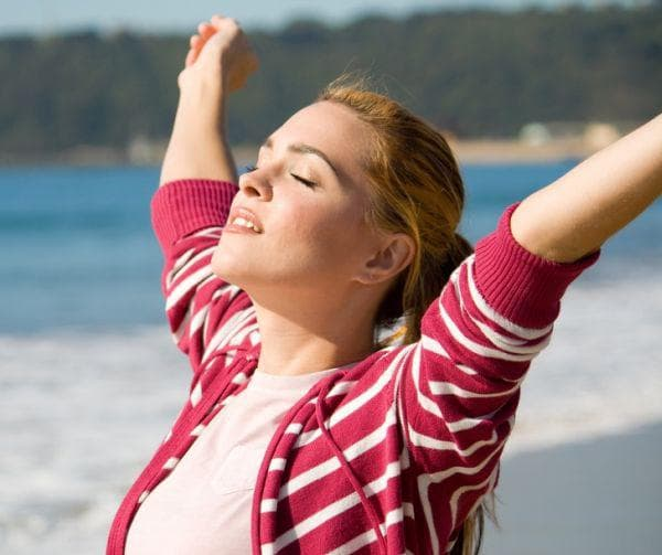 Разходка за освобождаване на ендорфини и намаляване на болката