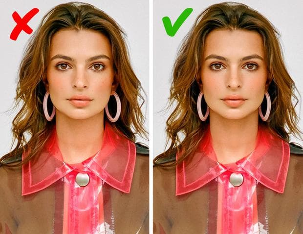 симетрия на лицето