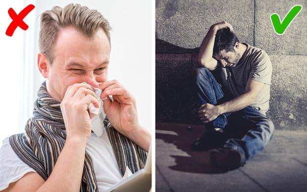 настинка и депресия
