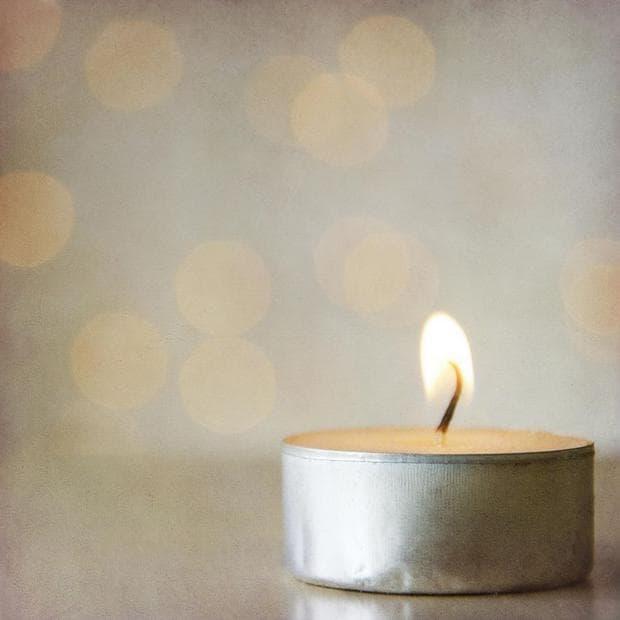 ванилови свещи