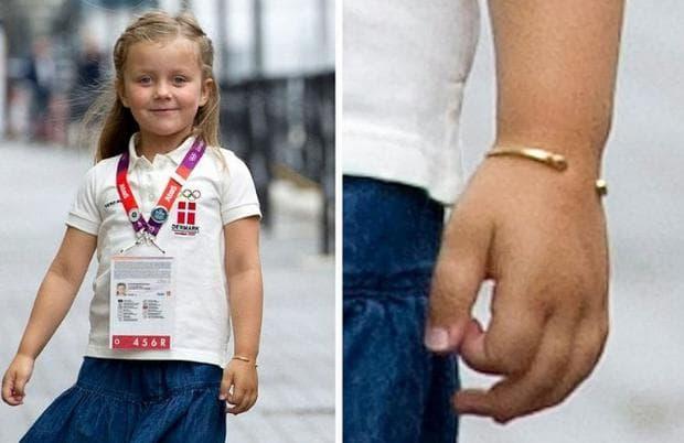 златни гривни от датските принцеси