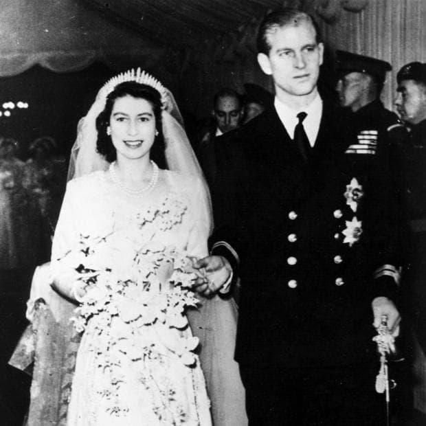 сватбата на кралица Елизабет Втора
