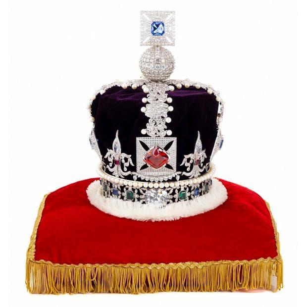 британска държавна корона