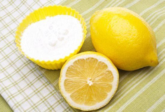 Комбинация от сода и лимон