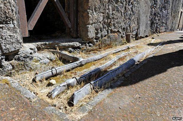 Римски водопроводни тръби