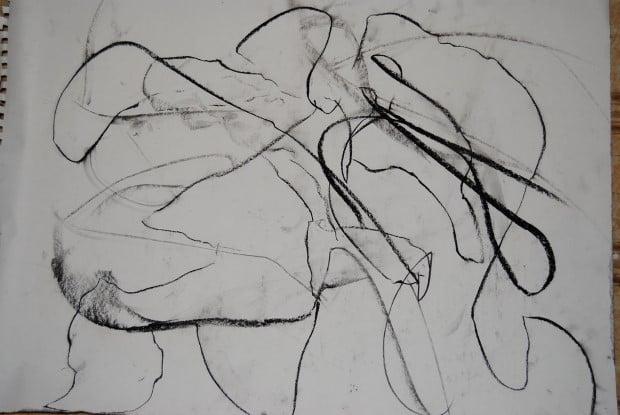 абстрактна драсканица