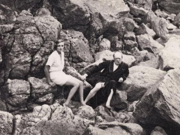 Уинстън Чърчил и Дорис Касълрос