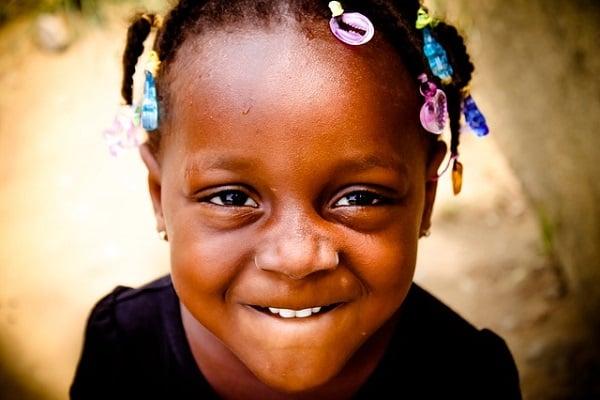 африканско дете